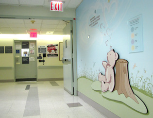Roosevelt Hospital Honors & Celebrates New Born Babies on Their Donor Display Wall