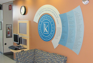 Donor Recognition Wall Becomes a Lasting Reminder of Community Partnership
