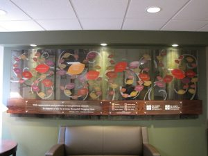 Donor Wall - Hospice Donor Recognition- Cedar Rapids, IA