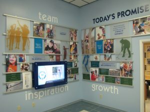 Donor Recognition Display at Texas Lions Camp - Presentations, Inc. Iowa