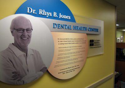 Hospital Dental Clinic Memorial Donor Wall