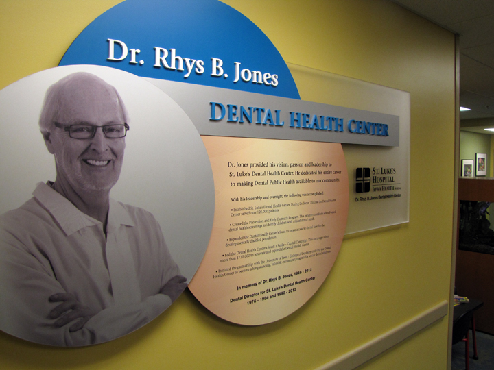 Hospital Dental Clinic Memorial Donor Wall