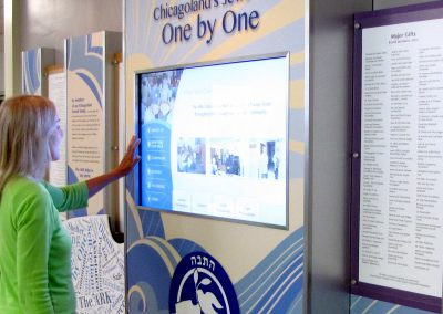 Digital Donor Wall Welcomes Visitors